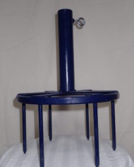Blue Umbrella Stand
